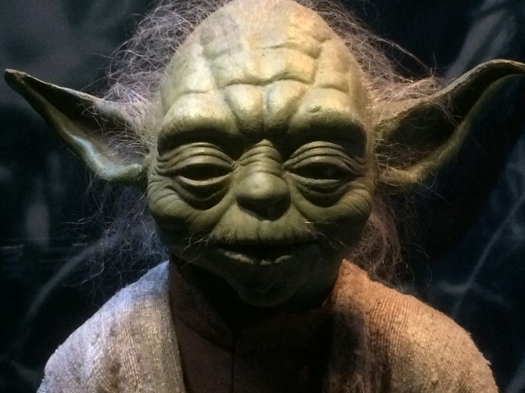 yoda puppet from phantom menace